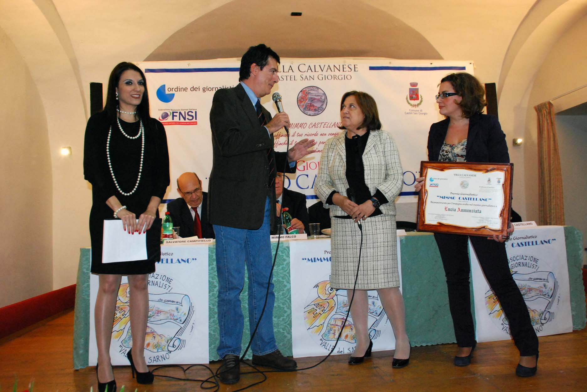 A Lucia Annunziata il premio Castellano alla carriera