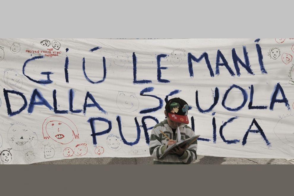 """""""Partigiani della scuola e della Costituzione"""", verso il movimento"""