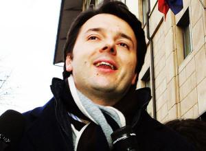 Il sindaco di Firenze Matteo Renzi