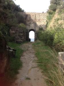 La celebre Porta Rosa di Velia
