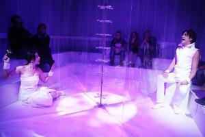 Una scena dello spettacolo