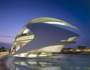 Un'opera dell'archistar Calatrava