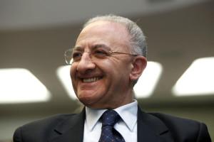 Il sindaco di Salerno Vincenzo De Luca