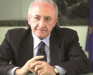 Il sindaco di Salerno De Luca