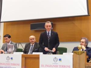 L'assessore regionale Romano introduce i lavori