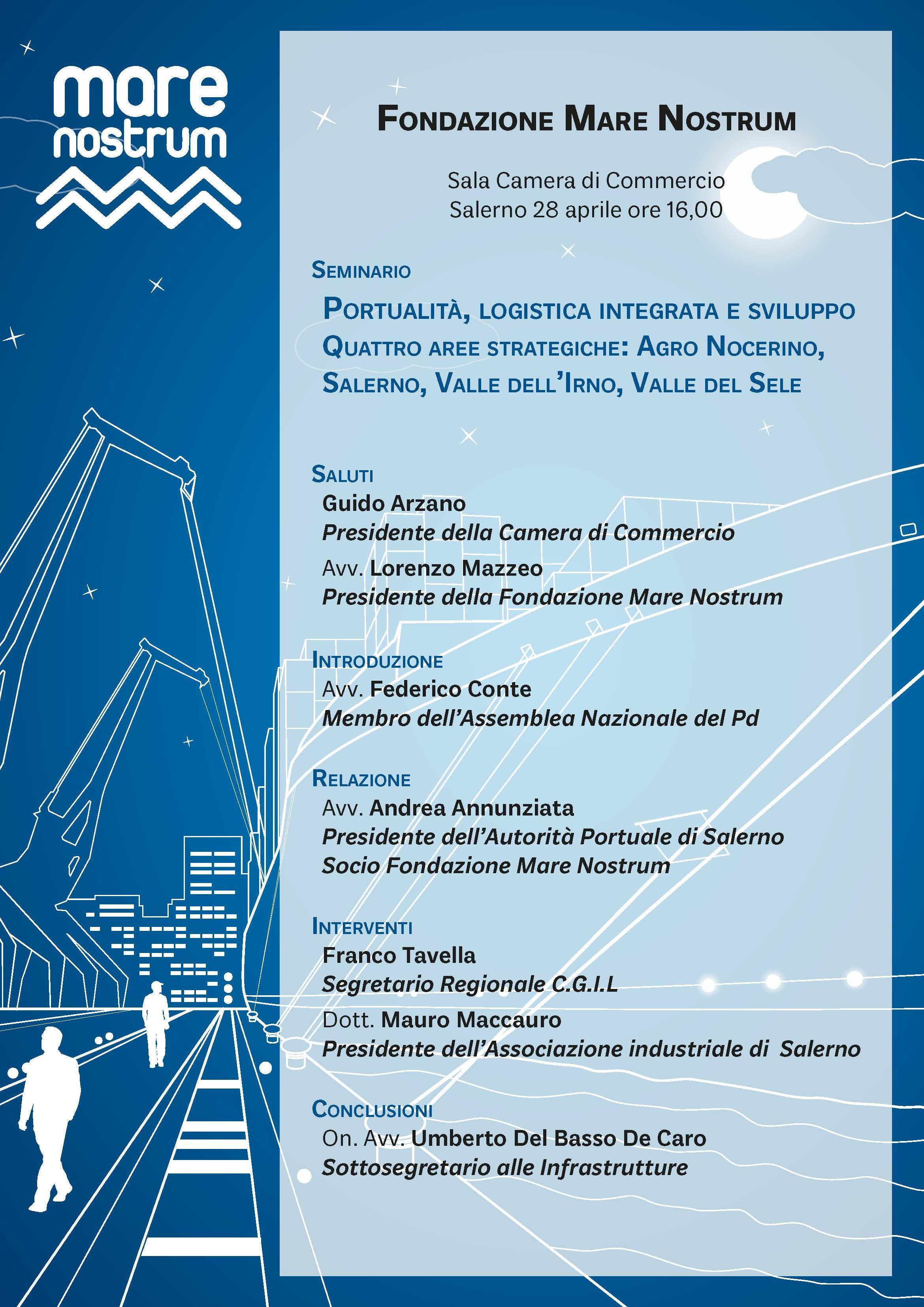 Salerno, un porto europeo  per uno sviluppo integrato