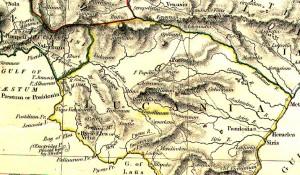 Il territorio della provincia di Salerno