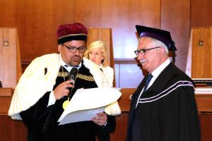 Proclamazione Laurea Honoris Causa Raffaele Bonanni