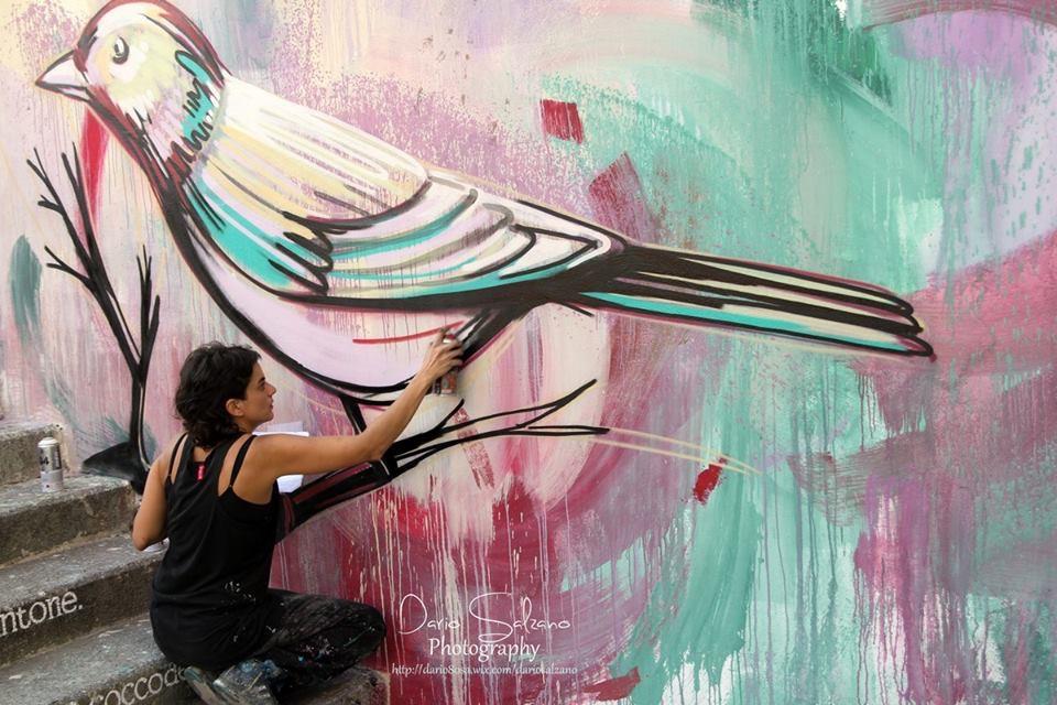 Salerno, murales d'eterno