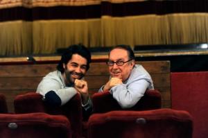 Vincenzo Albano con Maurizio Scaparro