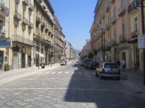 Caserta, corso Trieste