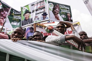 PDP election campaign rally
