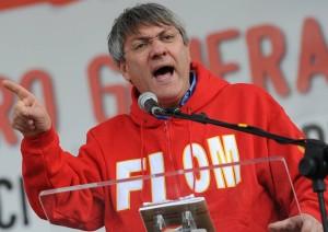 Maurizio Landini, leader della Fiom