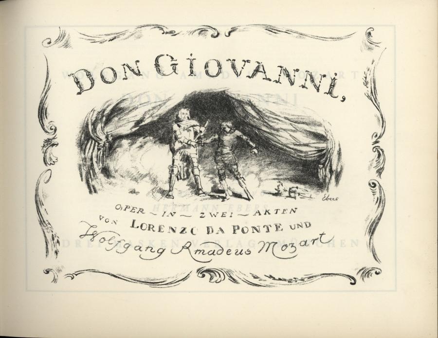 Un esangue Don Giovanni