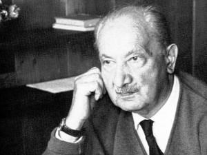 Il filosofo Martin Heidegger