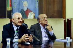 Regionali: Campania; De Mita (Udc) sostiene De Luca