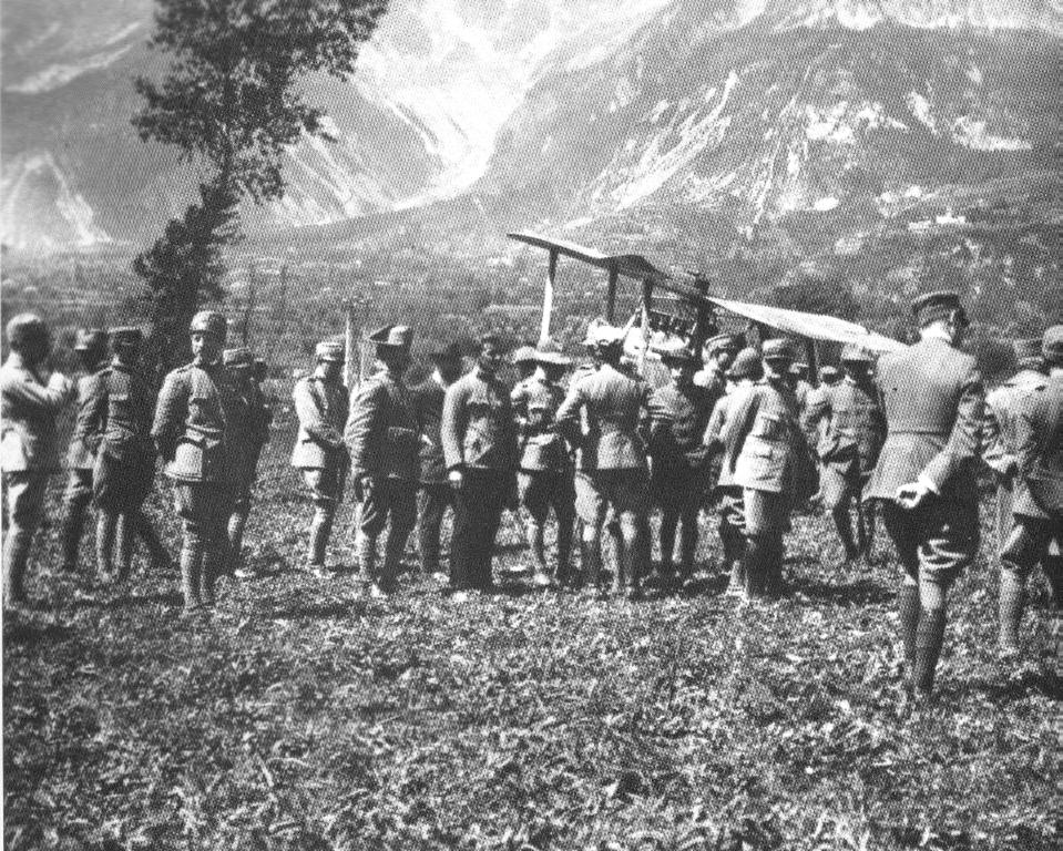 Pellare, riflettori sulla Grande Guerra