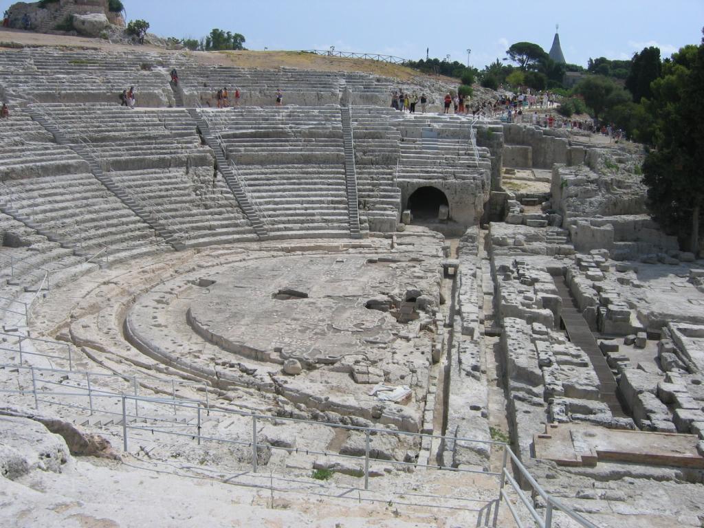 Un teatro per l'eternità