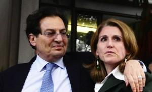 Rosario Crocetta con Lucia Borsellino
