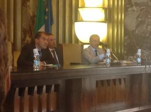 A. Manzi (a dr.) con M. Adinolfi