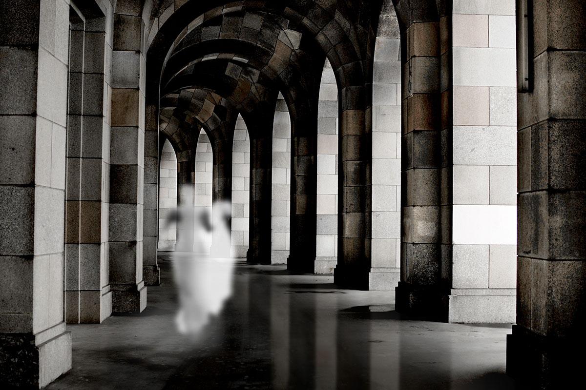 I fantasmi di Giorello, immagini di vite ancora da vivere