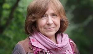 Svetlana Aleksievis, premio Nobel per la Letteratura 2015