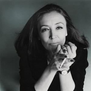 La scrittrice Oriana Fallaci