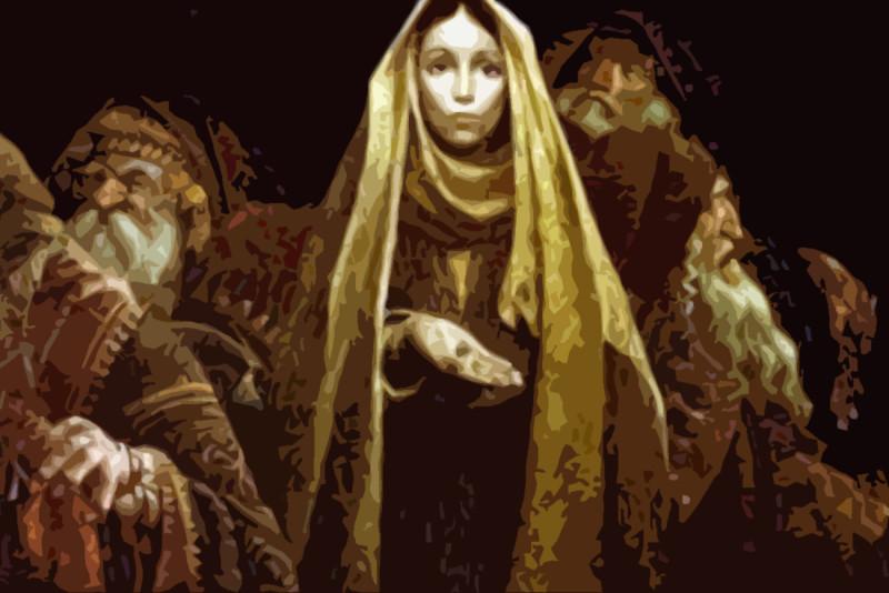 La religiosità autentica della vedova