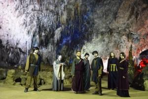 Viaggio di Ulisse nell'Ade: il cast