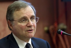 Il governatore della Banca d'Italia Ignazio Visco
