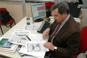 Il giornalista Antonio Manzo