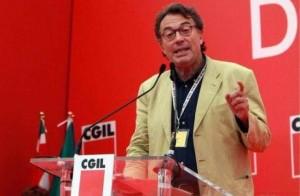 Il sindacalista Giorgio Cremaschi, già segretario del Comitato centrale della Fiom