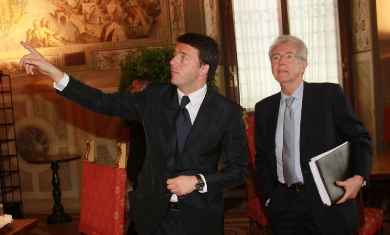 """La querelle Monti-Renzi e l'uscita """"rassicurante"""" di Matteo"""