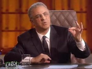 L'ex sindaco nella riuscita imitazione di Crozza