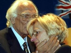 Marco Pannella con Emma Bonino