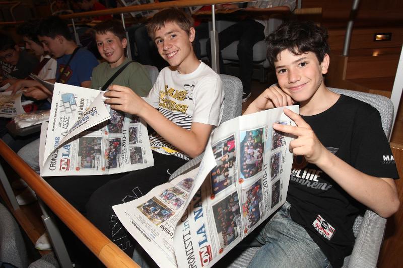 A scuola di giornalismo, 130 cronisti-docenti in classe