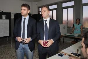 Roberto (a sinistra) e Piero De Luca