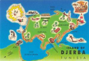Djerba l'isola a sud di Napoli