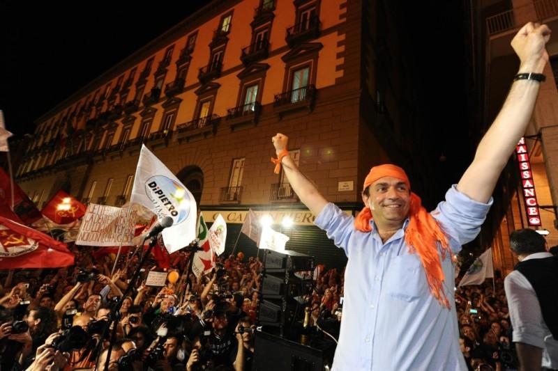 "De Magistris: ""Da Napoli nasce la Podemos italiana"""