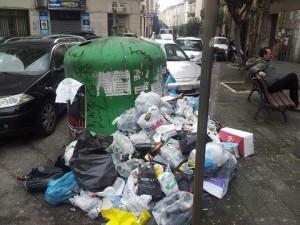 Salerno, scene di ordinario degrado