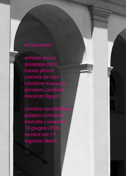 """""""Ad liquidum"""" nel chiostro vanvitelliano"""