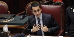Il vice presidente della Camera Luigi De Maio