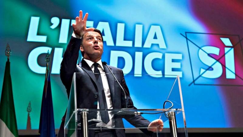 Renzi, il cambio di strategia