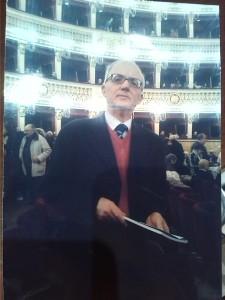 Il critico teatrale Francesco Tozza
