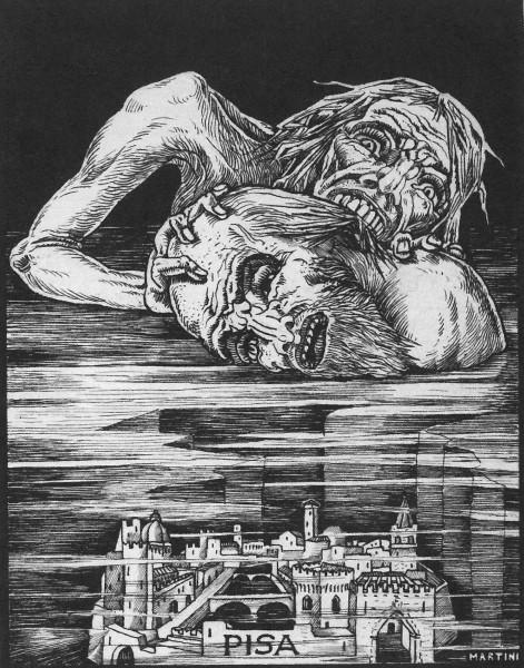Il conte Ugolino a San Pietro a Corte