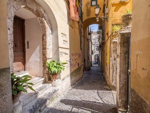 Il centro storico di Salerno oggi