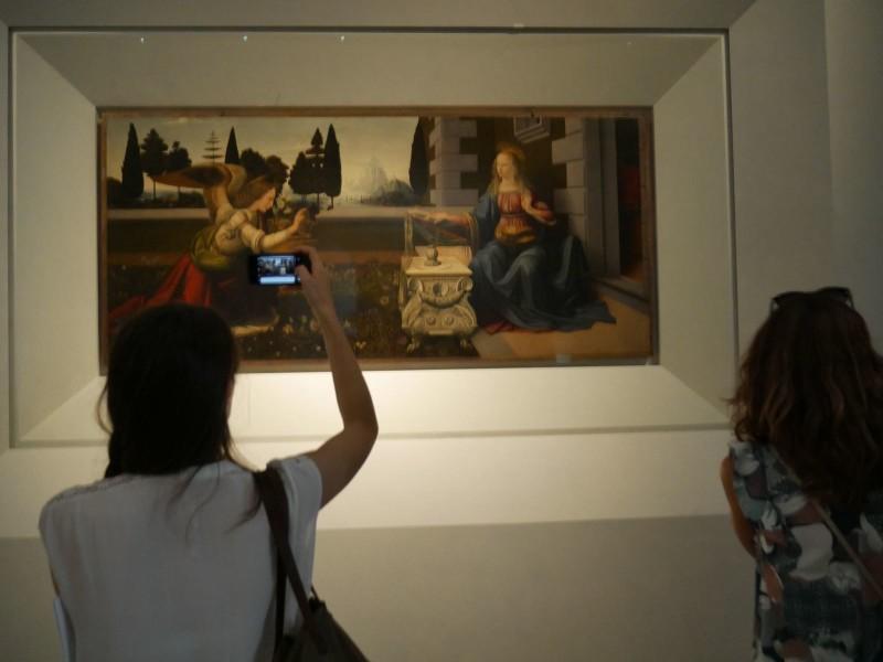 """Nuova """"casa"""" per Leonardo da Vinci agli Uffizi"""