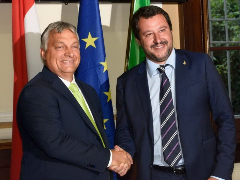 """""""Governo Salvini"""" grave pericolo da cui difendersi"""