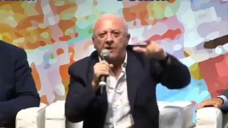 """L'assolo """"salviviano"""" di Vincenzo De Luca"""